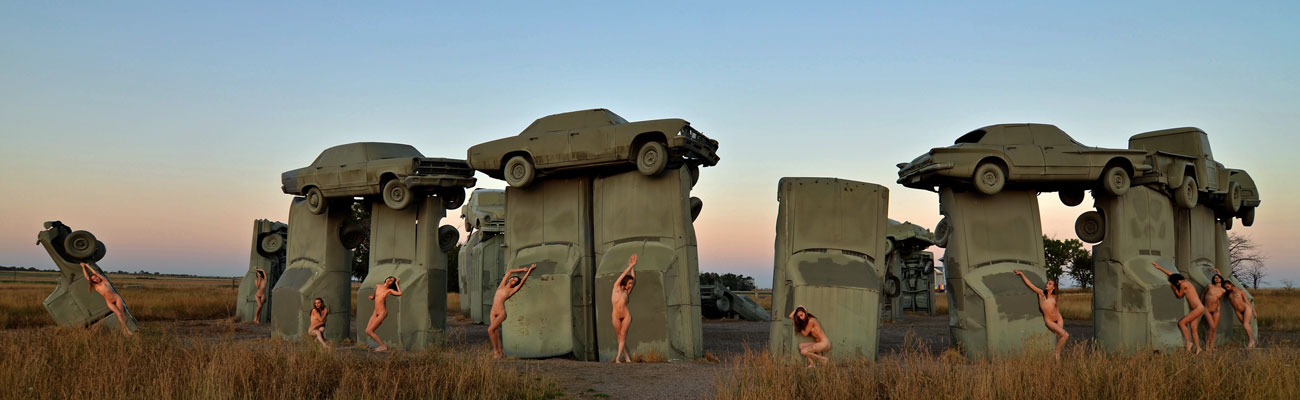 Carhenge composite final fr Why Am I Here?