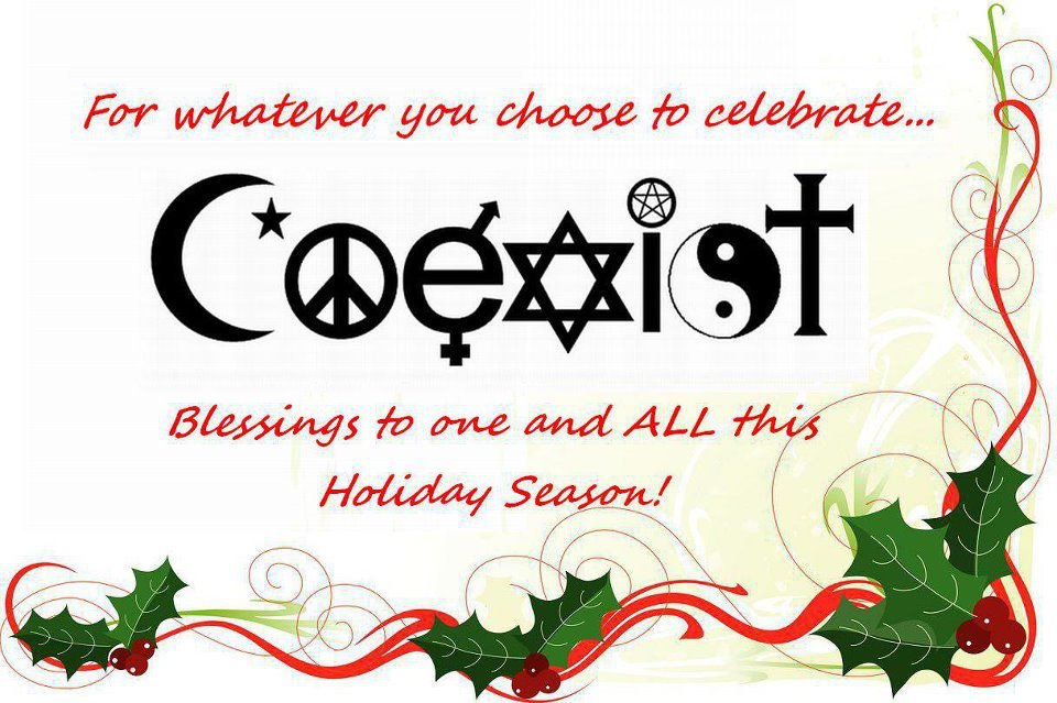 Coexist Happy Christmas