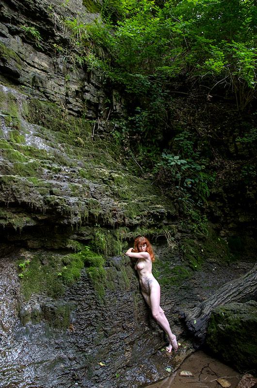 D70 5349 No Water Waterfall